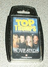 TOP TRUMPS  MOVIE STARS  Collectible, Competitive, Compulsive Winning Mo... - $3.48