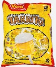 Vero Tarrito Paletas Fruit Flavor Mexican Hard Candy LolliPops 40 pcs - $14.95
