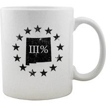 Original New Mexico State III Percenter Mug - $16.99
