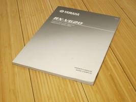 Yamaha RX-V620 AV Receiver Owners Manual - Original OEM Genuine - $16.82