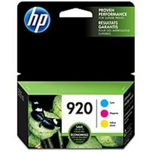 HP 920 Original Ink Cartridge - Inkjet - 300 Pages Cyan, 300 Pages Magen... - $57.19