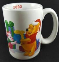 Disney Winnie The Pooh And Friends 2002 Christmas Mug Christmas Present Mug - $18.81