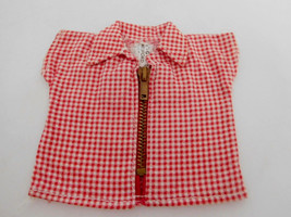 Vintage 1955 Vogue Ginny Tagged Blouse of Merry Moppets Zipper Series - $9.99
