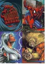 1995 Fleer Flair Marvel Annual Trading Cards Promo One-Sheet by Fleer - $8.82