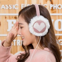 Female Music Earmuffs Warmer Winter Women Warm Music Muffs Headphones Ea... - $9.99