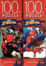 Marvel Spider - Man - 100 Piece Jigsaw Puzzle (Set of 2) - v6 - $14.84