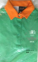 NOS Vintage 1984 LEVIS Olympic Staff Uniform Polo Shirt Los Angeles Smal... - $39.11