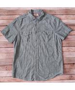 Woolrich Men Shirt 100% Cotton Green Size Medium - $14.85