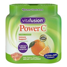 Vitafusion Power C, Gummy Vitamins For Adults 300ct
