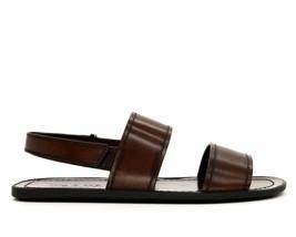 Prada Sandales Marron Cuir Bretelles Taille 8.5 Neuf - $307.72