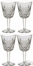Waterford Crystal LISMORE Claret Wine Glasses Set of FOUR (4) 154038 Bra... - $239.83