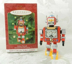 Hallmark Christmas Ornament Robot Parade #1 in Series 2000 Tin - $14.84