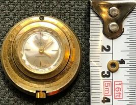 Vintage Ultrason 17 Jewels Swiss Made Pendant Watch - Functional - $7.54