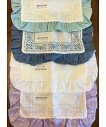 "Zweigart's Butterfly Pillow Sham 18 Count Cross Stitch 17"" x 17"" 4 Colors - $21.95"