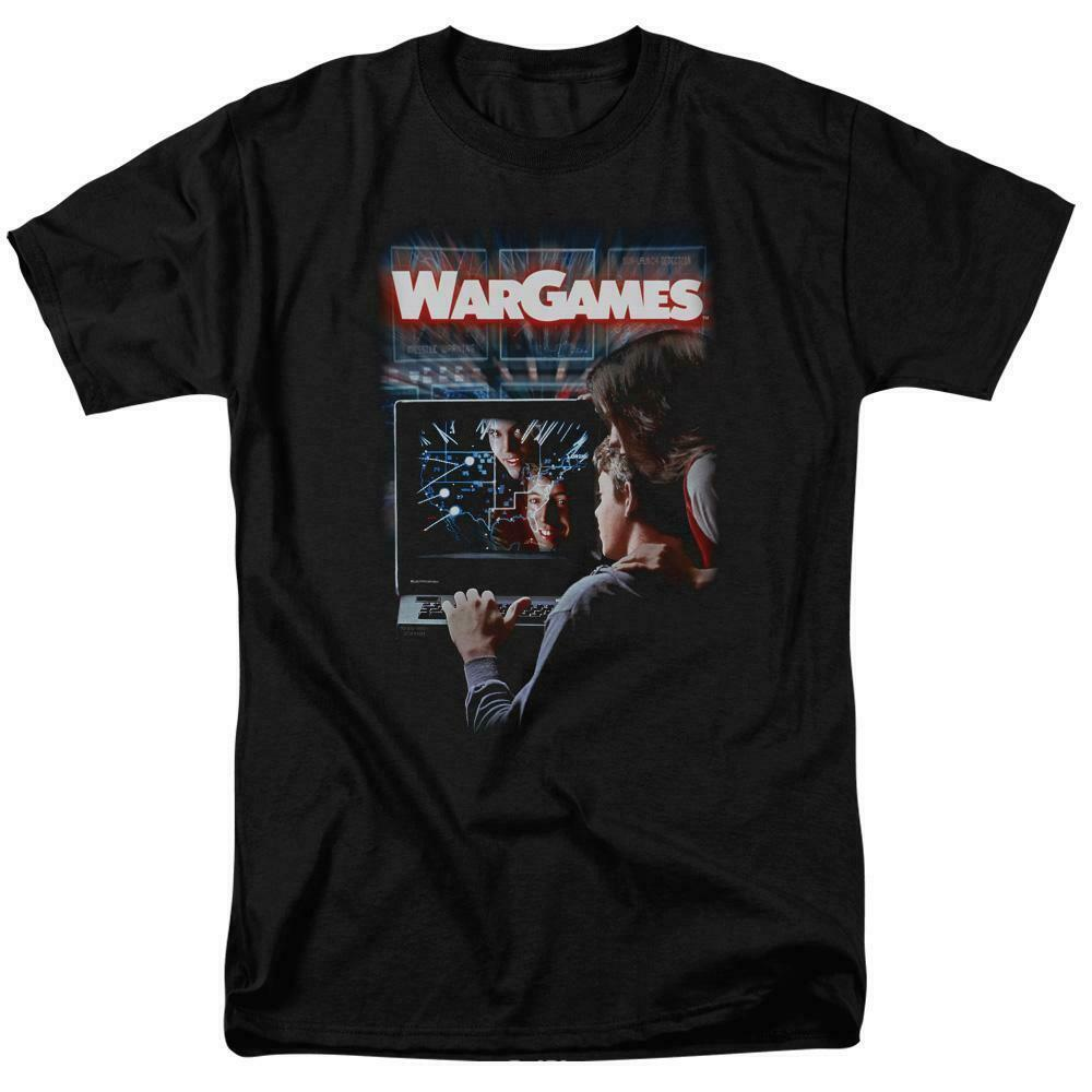 War Games t-shirt retro 80s teenage computer hacker movie graphic tee MGM320