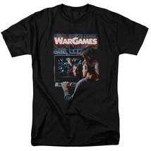 War Games t-shirt retro 80s teenage computer hacker movie graphic tee MGM320 image 1