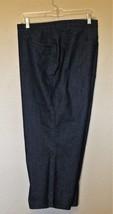 Denim & Company Cropped Jeans 22W Blue Denim Dark Wash 5 Pocket Cotton B... - $13.01