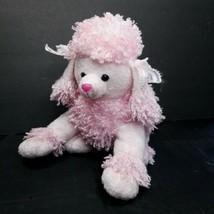 Aurora World Pink Poodle Hand Puppet Full Body Plush Plush Stuffed Anima... - $19.79