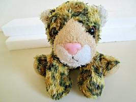"Aurora Beanbag 7.5""  Leopard - Long plush toy very soft. - $3.99"