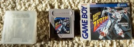 Battle Unit Zeoth (Nintendo Game Boy, 1991), game cartridge + manual + case - $25.82