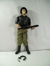 "GI JOE FLINT 12"" ACTION FIGURE 1/6 SCALE HASBRO 2008 HELMET WEAPON - $18.57"