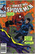 the Amazing Spider-Man Comic Book #349 Marvel Comics 1991 VERY FINE- - $2.99