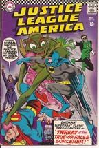 DC Justice League Of America #49 Superman Green Lantern Atom Aquaman  - $14.95