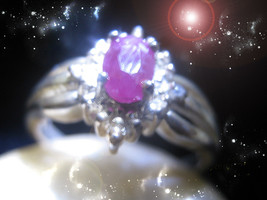 Haunted Ring Queen Witch's Golden Lines Lineage Of Riches & Fortune Ooak Magick - $6,237.77