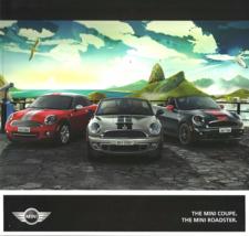 2012 Mini COOPER COUPE ROADSTER dlx brochure catalog S 12 US  - $15.00