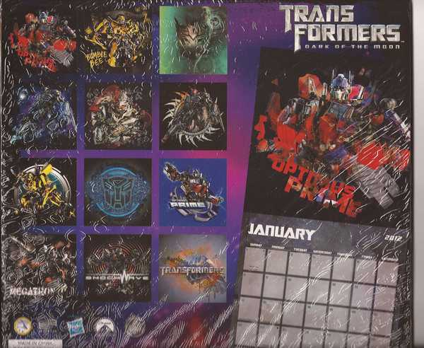 Transformers Spider-Man Spider Sense & Marvel Heroes 2012 Calendar Lot Brand New