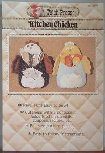 Patch Press Kitchen Chicken Utensil, Cpn & Recipe Holder Pat