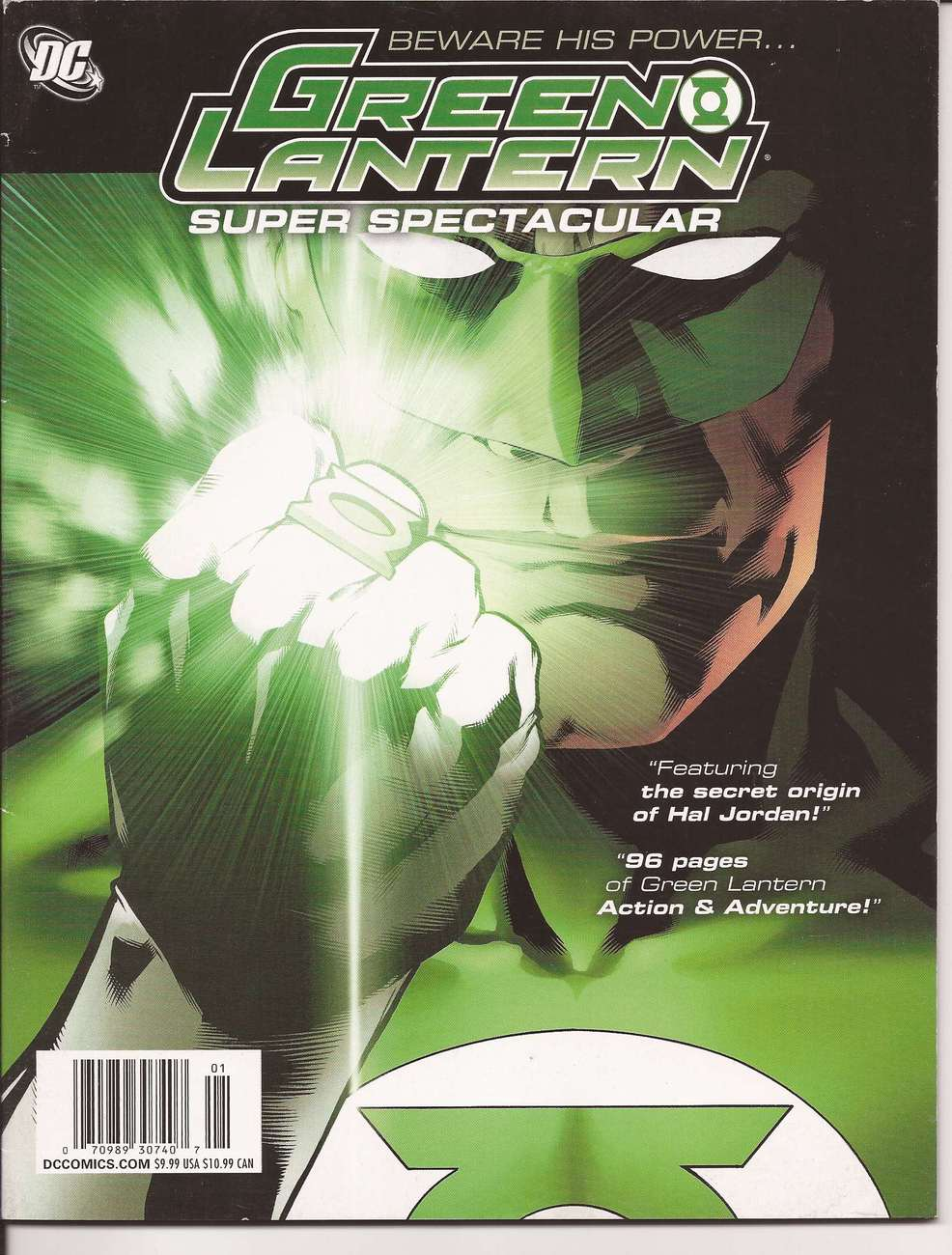 Green Lantern Super Spectacular Secret Origin Of Hal Jordan Alienated Flight