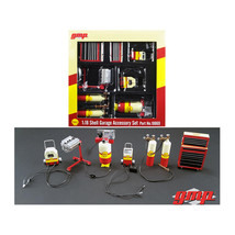 6pc Shop Tools Set #1 Shell Oil 1/18 Diecast by GMP 18869 - $47.98