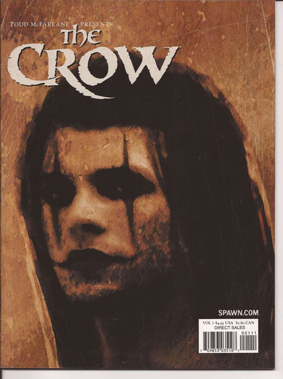 Todd McFarlane Presents The Crow V1 James O'Barr Interview History Of The Crow