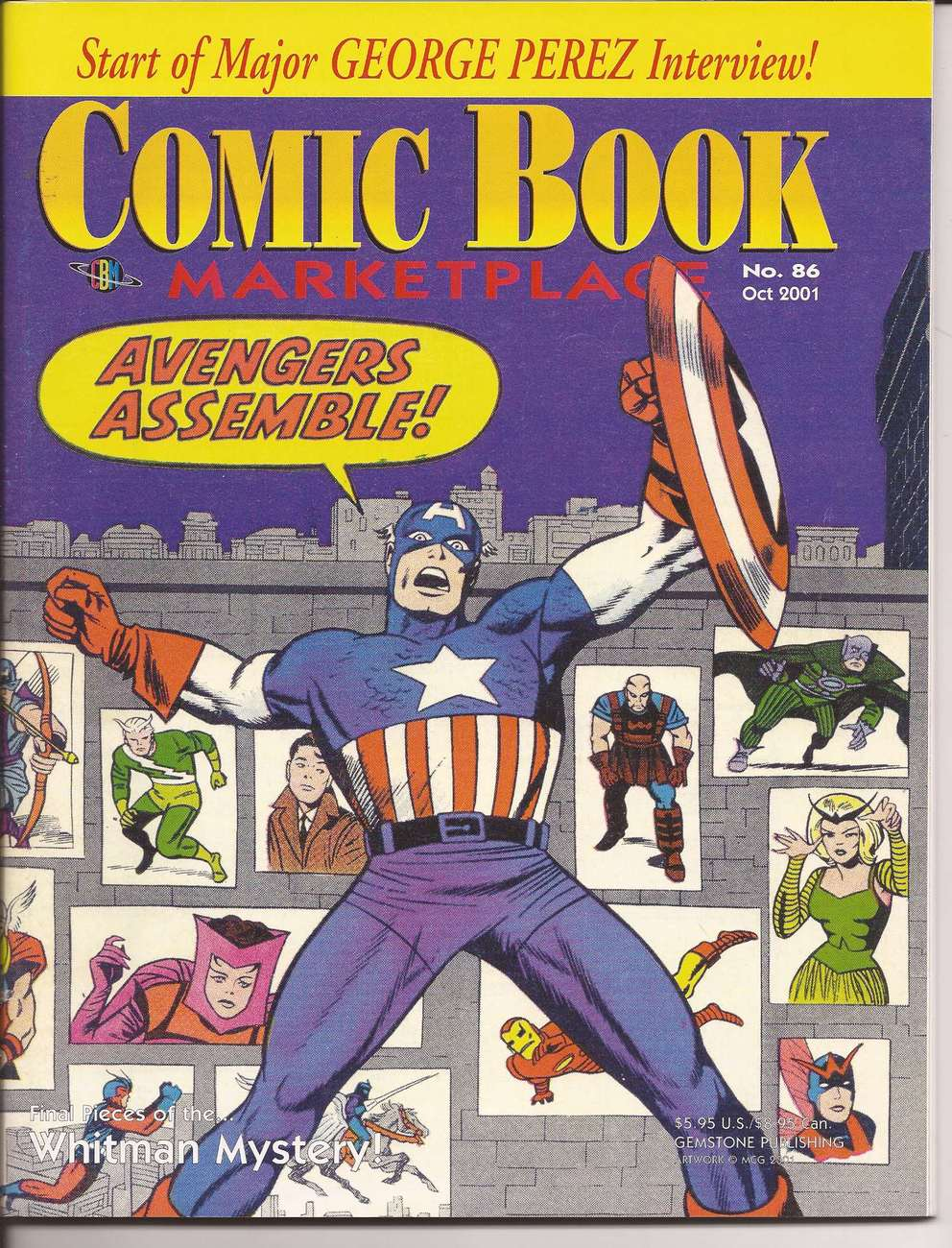 Comic book marketplace  86