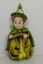 "Disney Sleeping Beauty Green Fairy Godmother Fauna 10"" Plush Doll  - $12.13"