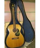 Vintage Harmony Acoustic Guitar H-162,  USA Made, Mahogany steel neck ca... - $432.52