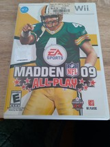 Nintendo Wii Madden NFL 09: All-Play ~ COMPLETE image 1