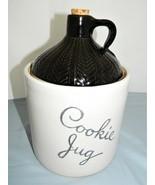 Monmouth Maple Leaf Moonshine Whiskey Cookie/Storage Jar – Stoneware - M... - $24.50