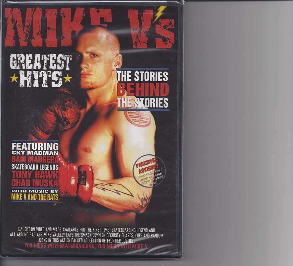 Primary image for MIKE V'S Greatest Hits DvD, Brand New