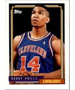 Bobby Phills 1992-93 Topps Card #226 - $0.99