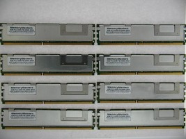 32GB (8 x 4GB) DDR2 FB Fully Buffered PC2-5300F 667 Memory HP ProLiant ML350 G5