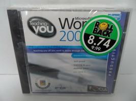Teaching you Microsoft Word 2000 CD Rom - $1.89