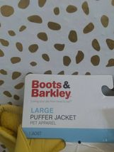 BOOTS AND BARKLEY Yellow Dog Puffer Jacket Vest NEW! --SIZES L & Sm AVAILABLE image 5