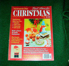Womans Day Best Ideas For Christmas Crafts & Recipes - $4.00