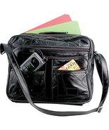 """Maxam 14"""" Weekender Leather Tote Bag - $40.00"""