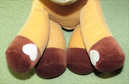 """Enesco TENDER TAILS MOOSE 12"""" Plush PRECIOUS MOMENTS Stuffed Animal Sticky Hands image 4"""
