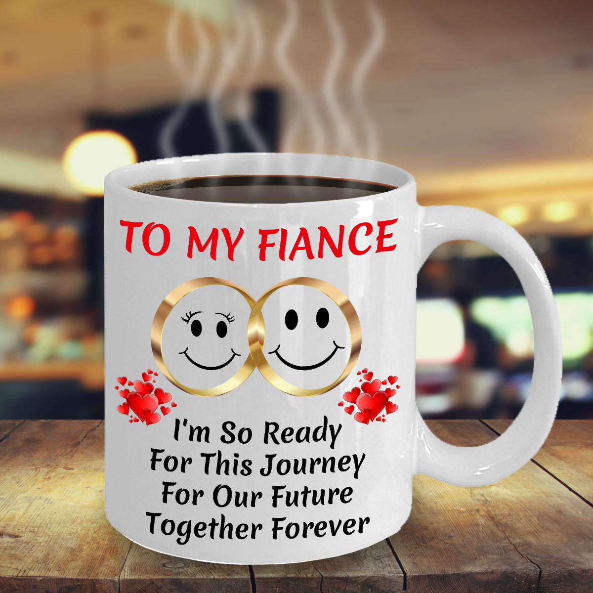 Gift For Fiance Bride Groom Her Wedding Engagement Proposal Color Changing Mug