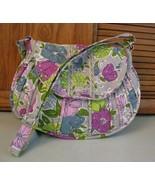 Vera Bradley Floral Crossbody Shoulder Bag PURSE Handbag Pocketbook - $21.77
