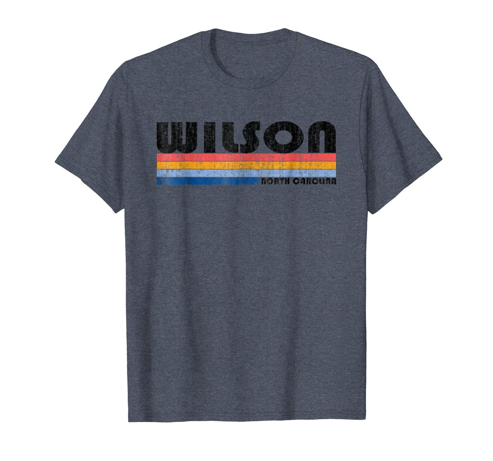 Vintage 1980s Style Wilson NC T Shirt